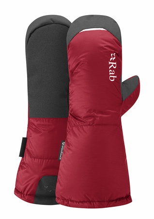 Rab Mens Endurance Down Mitt Cherry (Close Out)