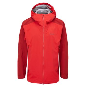 Rab Mens Kinetic Alpine 2.0 Jacket Ascent Red