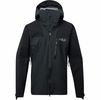 Rab Mens Ladakh GTX Jacket Black/ Beluga (close out)