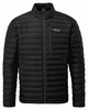 Rab Mens Microlight Jacket Black/ Shark (Close Out)