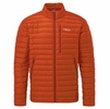 Rab Mens Microlight Jacket Firecracker/ Red Clay (Close Out)