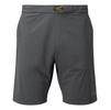 """Rab Mens Momentum Shorts 9"""" Inseam Steel (close out)"""