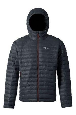 Rab Mens Nimbus Jacket Beluga/ Zinc (Close Out)