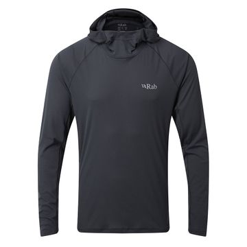 Rab Mens Pulse Hoody Ebony