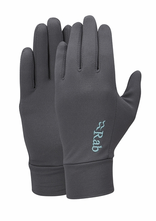 Rab Womens Flux Liner Glove Beluga (Close Out)