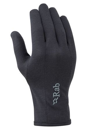 Rab Womens Forge 160 Glove Ebony (Close Out)