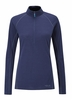 Rab Womens Merino 120 LS Zip Twilight