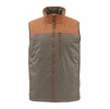 Simms Mens Midstream Insulated Vest Saddle Brown