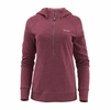 Simms Womens BugStopper Hoody Garnet Heather