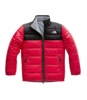 The North Face Boys Reversible Mt Chimbo Jacket TNF Red