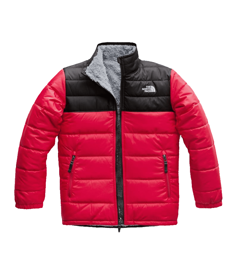 abae5b444b0e The North Face Boys Reversible Mt Chimbo Jacket TNF Red (Close Out)