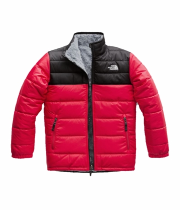 The North Face Boys Reversible Mt Chimbo Jacket TNF Red (Close Out)