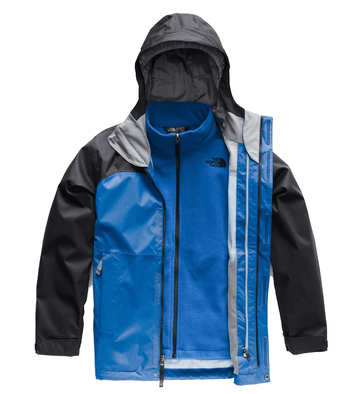 The North Face Boys Vortex Triclimate Jacket Turkish Sea