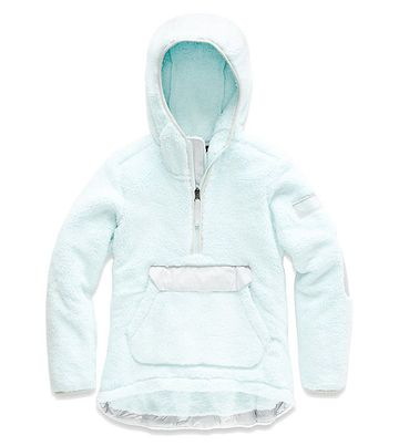 The North Face Girls Campshire Pullover Origin Blue (Close Out)