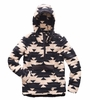 The North Face Girls Campshire Pullover Peyote Beige California Basket Print (Close Out)