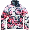 The North Face Girls Reversible Mossbud Swirl Jacket Atomic Pink Digi Floral Print