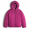 The North Face Girls Reversible Perrito Jacket Roxbury Pink (Close Out)