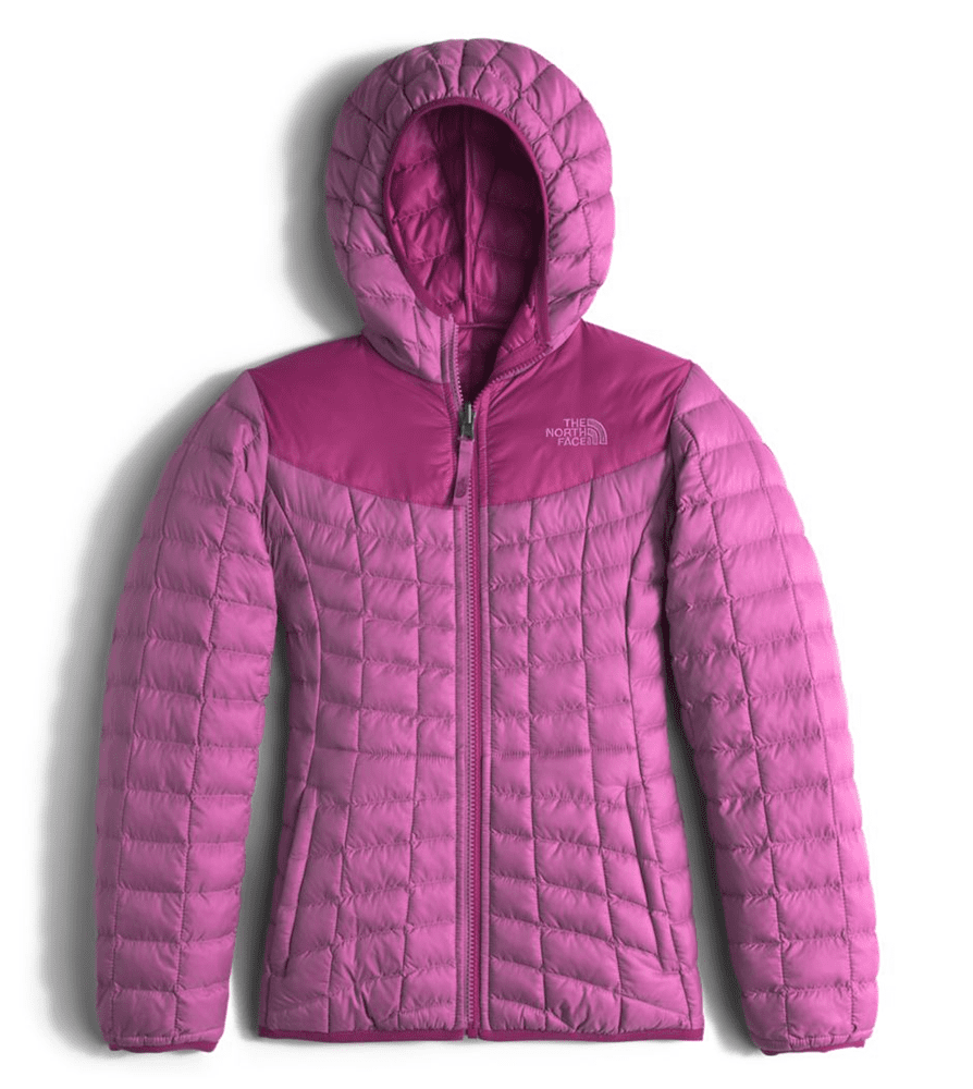 693b3e46eab5 The North Face Girls Reversible Thermoball Hoodie Wisteria Purple (Close  Out)