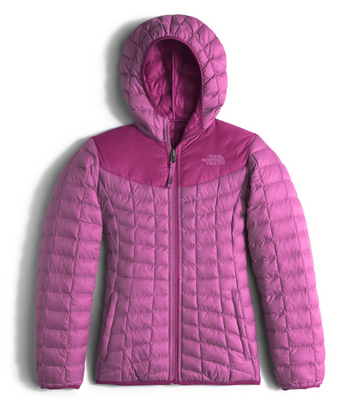 The North Face Girls Reversible Thermoball Hoodie Wisteria Purple