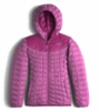The North Face Girls Reversible Thermoball Hoodie Wisteria Purple (Close Out)