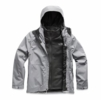 The North Face Mens Arrowood Triclimate Jacket Mid Grey (Close Out)