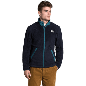 The North Face Mens Campshire Full Zip Aviator Navy/ Mallard Blue (Close Out)