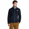 The North Face Mens Campshire Full Zip Aviator Navy/ Mallard Blue