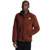 The North Face Mens Campshire Full Zip Brandy Brown/ Aviator Navy