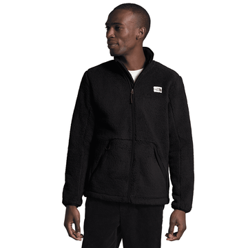The North Face Mens Campshire Full Zip TNF Black (Close Out)