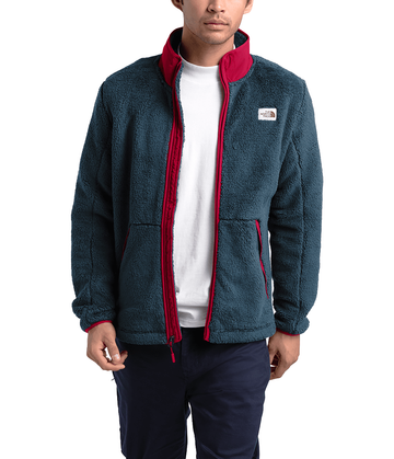 The North Face Mens Campshire Full Zip Urban Navy/Cardinal Red (Close Out)