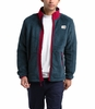 The North Face Mens Campshire Full Zip Urban Navy/Cardinal Red