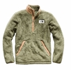 The North Face Mens Campshire Pullover Four Leaf Clover/ Cargo Khaki
