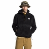 The North Face Mens Campshire Pullover Hoodie Black/ TNF Black (Close Out)