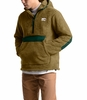 The North Face Mens Campshire Pullover Hoodie British Khaki/Night Green