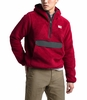 The North Face Mens Campshire Pullover Hoodie Cardinal Red/Asphalt Grey