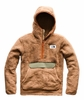 The North Face Mens Campshire Pullover Hoodie Cargo Khaki/ Four Leaf Clover
