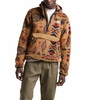 The North Face Mens Campshire Pullover Hoodie Cedar Brown California Geo Print