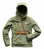 The North Face Mens Campshire Pullover Hoodie Four Leaf Clover/ Cargo Khaki