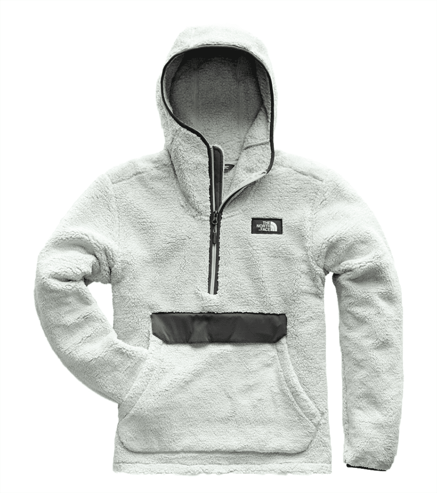 261a17afc85c The North Face Mens Campshire Pullover Hoodie High Rise Grey  Asphalt Grey
