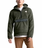 The North Face Mens Campshire Pullover Hoodie New Taupe Green/Asphalt Grey