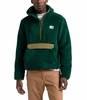 The North Face Mens Campshire Pullover Hoodie Night Green/British Khaki