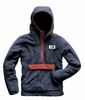 The North Face Mens Campshire Pullover Hoodie Urban Navy/ Caldera Red  (close out)