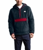The North Face Mens Campshire Pullover Hoodie Urban Navy/Cardinal Red