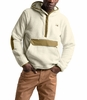 The North Face Mens Campshire Pullover Hoodie Vintage White/British Khaki
