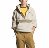 The North Face Mens Campshire Pullover Hoodie Vintage White/ Twill Beige (Close Out)