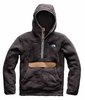The North Face Mens Campshire Pullover Hoodie Weathered Black/ Cargo Khaki