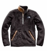 The North Face Mens Campshire Pullover Weathered Black/ Cargo Khaki