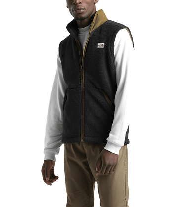 The North Face Mens Campshire Vest TNF Black/British Khaki (Close Out)