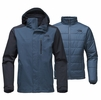 The North Face Mens Carto Triclimate Jacket Shady Blue/ Urban Navy (close out)