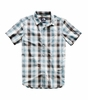 The North Face Mens Hammetts Short Sleeve Shirt Vintage White Ash Plaid  (close out)